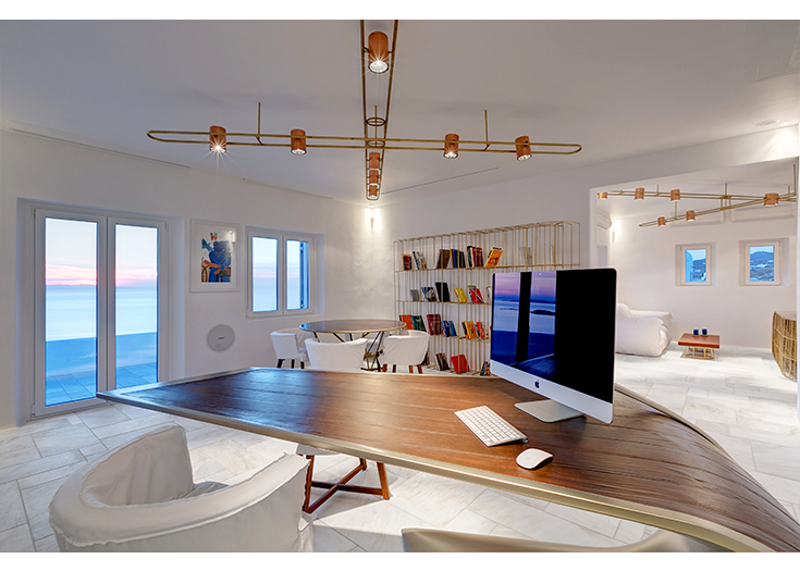 Spyridon Apostolou's office in Mykonos, collaboration with Dipl. civil engineer Spyridon Apostolou