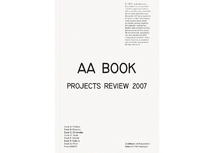 AA projects review 2007