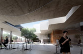 music school - south france - project developed at BrisacGonzalez - image produced by MIR